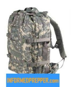 Elite First Aid Stomp Medical Back Pack ACU Camo