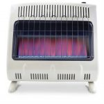 Mr Heater 30000 BTU Vent Free Blue Flame Natural Gas Heater a life saver during sold weather power outages