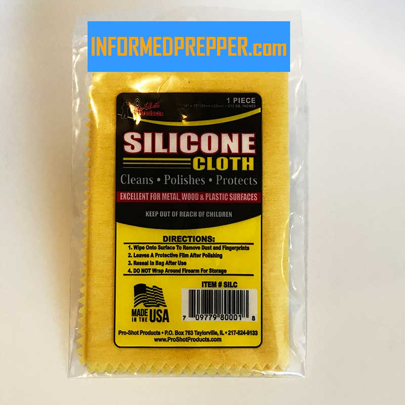 Pro Shot Gun Care Silicone Cleaning Cloth Keeps Guns From Rusting