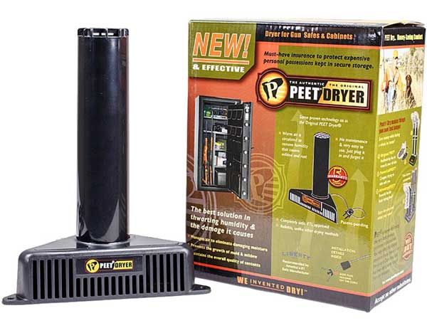 Peet Gun Safe Dryer Dehumidifier
