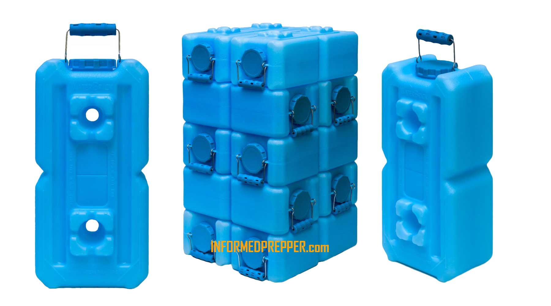Waterbrick Containers Water Storage Informed Prepper