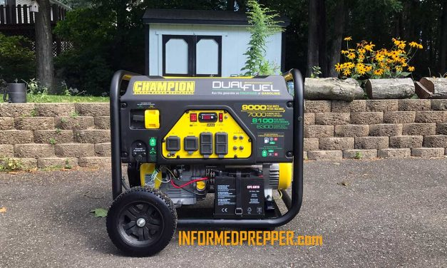 CHAMPION 7000 WATT DUAL FUEL GENERATOR | Model 100155